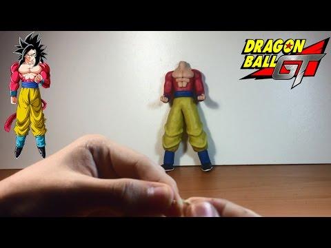 Como Hacer a Goku Ssj 4 de Plastilina