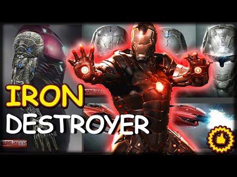 Avengers 4: Iron Destroyer brnění ?! (Nano + Vibranium + Uru)