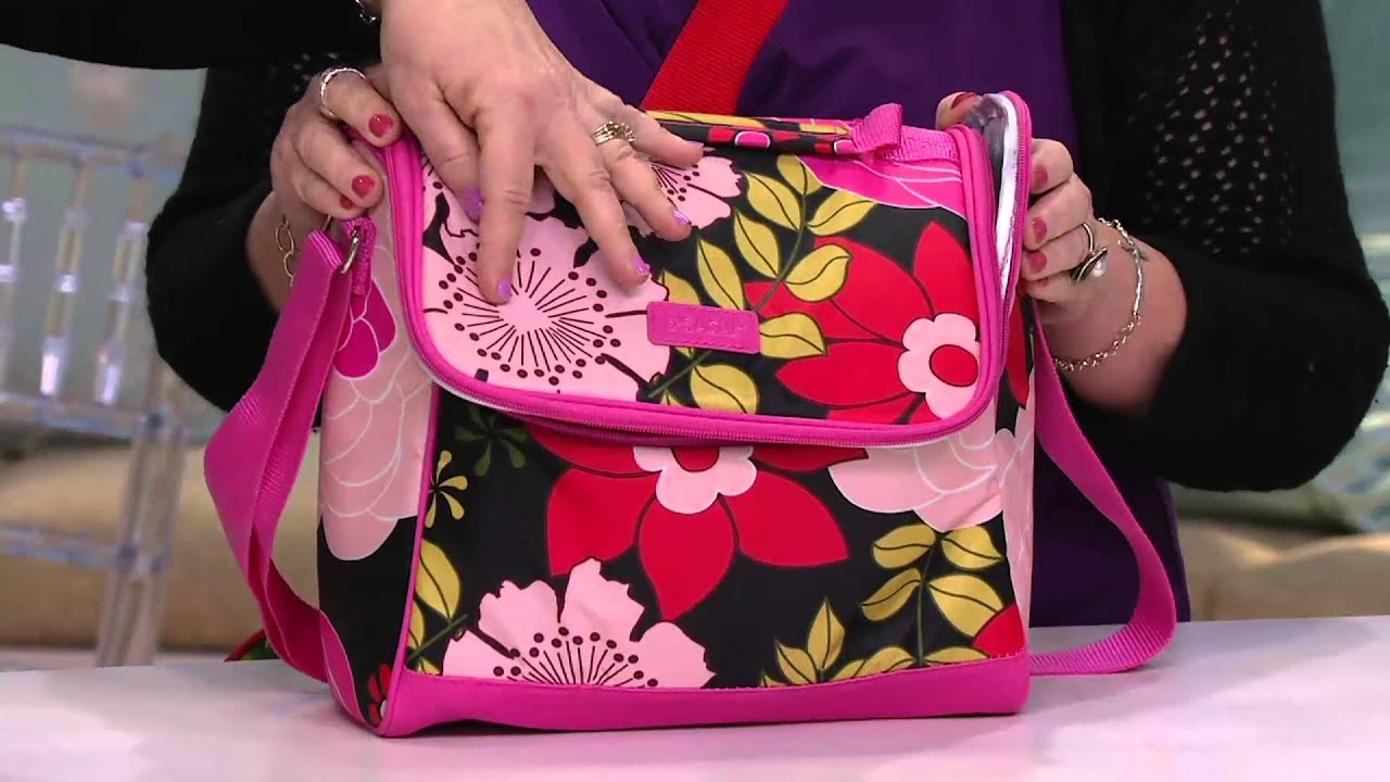 Sachi Crossbody Insulated Lunch Bag On Qvc