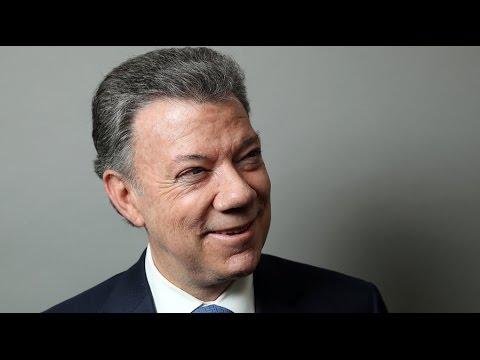 Colombian President Juan Manuel Santos awarded 2016 Nobel Peace Prize for FARC deal