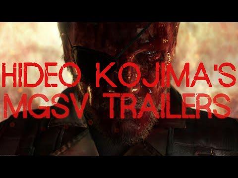 All of Hideo Kojima's MGSV Trailers