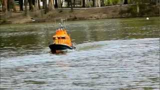 JCRC- 1/12 SCALE Trent Class RNLI Lifeboat rc model Boat