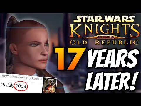 Star Wars: Knights of the Old Republic - Playing For The FIRST TIME! |