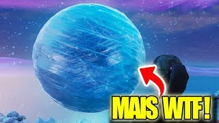 UNE BOULE DE GLACE GEANTE EST APPARUE SUR FORTNITE ! ON ATTEND L'EVENEMENT