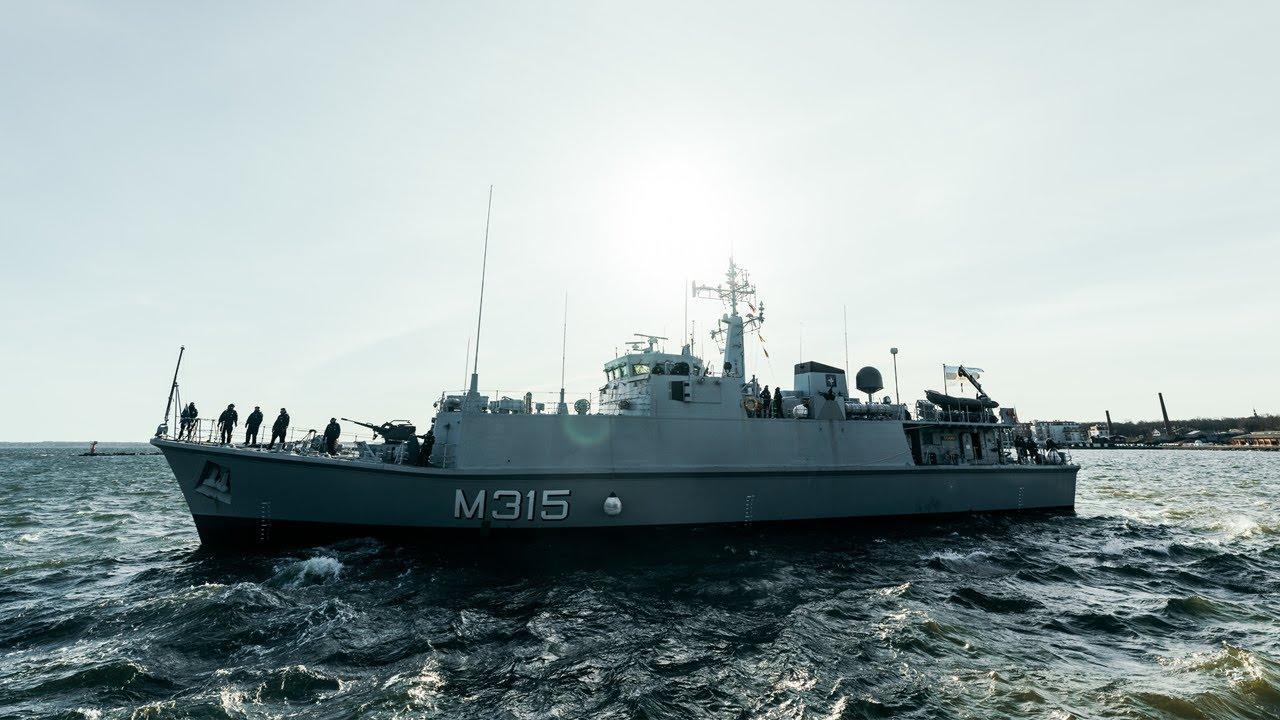 NATO 1. alaline miinitõrjegrupp jõudis Tallinnasse