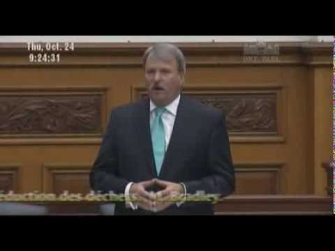 Further debate on Bill 91 Waste Reduction Act - Jack MacLaren