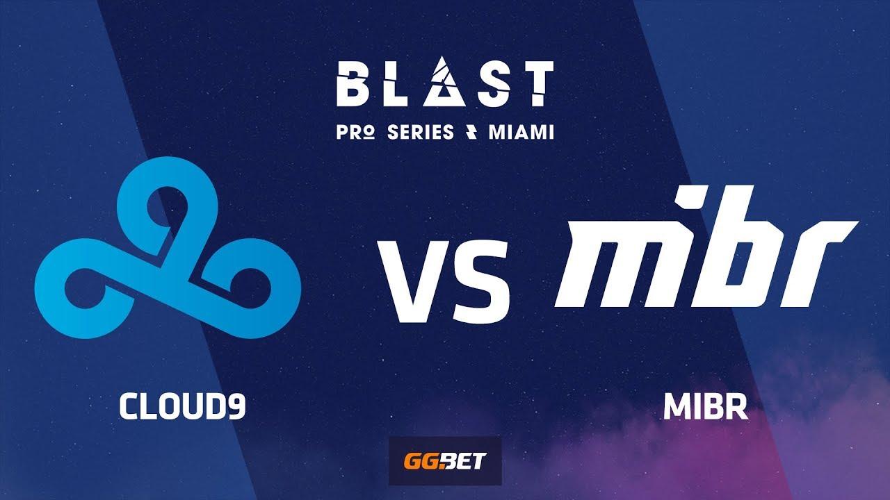 [RU] Cloud9 vs MIBR | Cache | BLAST Pro Series Miami 2019