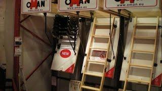 Чердачные лестницы.Видеообзор различных типов чердачных лестниц.