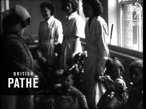 The Queen Visits Cotton Mills In Rochdale. AKA Queen In Rochdale (1948)