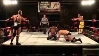 aaw pro wrestling season 2 episode 10 monster mafia vs ach louis lyndon