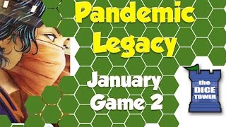 Pandemic Legacy Playthrough: January, Game 2 (SPOILERS)