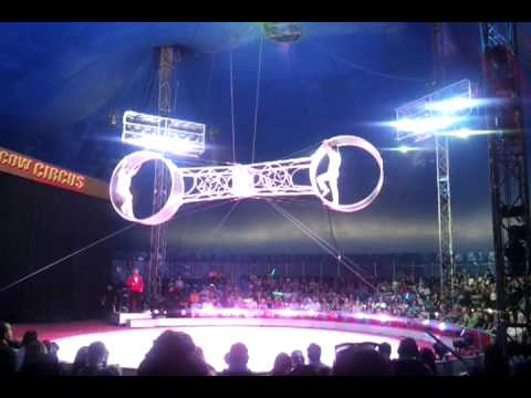 Moscow Circus - Wheel of Death Act