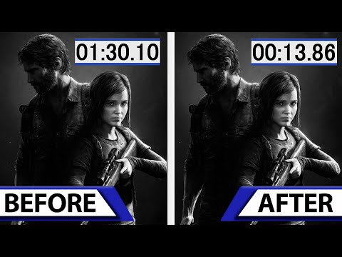 The Last of Us Remastered | Loading Times Patch Comparison