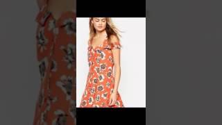 Moda 2017 Fashion 2018 dress flower tendencias