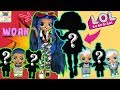 LOL SURPRISE AMAZING SURPRISE WITH 14 DOLLS & 70+ SURPRISES TOY UNBOXING VIDEOS -  NEW LOL FAMILY!
