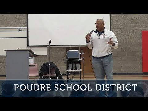 Paralympian Athlete and Amputee Speaks at Webber Middle School