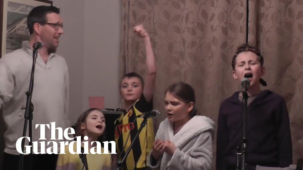 One Day More Family Goes Viral With Lockdown Themed Les Mis Song