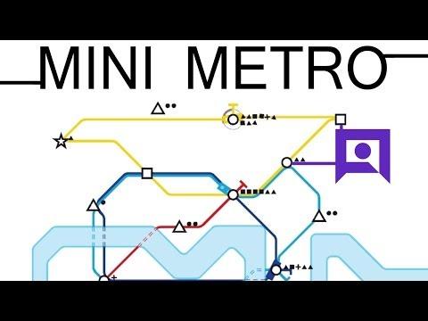 Mini Metro - Underground Tube Station Management!