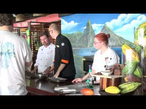 How to make Truffles at Anse Chastanet Resort