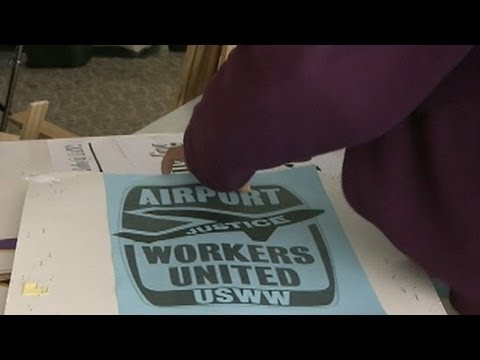 Thanksgiving Travel Delays 2012: LAX Airport Worker Strike: Workers Protest on Busiest Travel Day