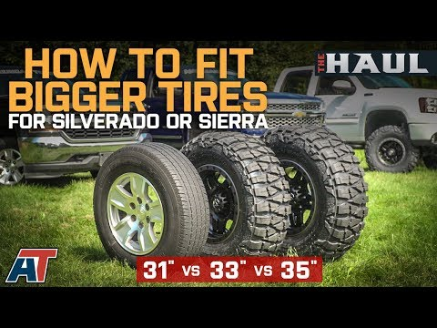How To Fit Larger Tires on Your Chevy Silverado or GMC Sierra