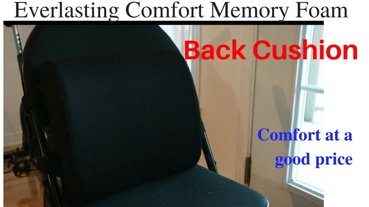 Everlasting Comfort Memory Foam Back Cushion