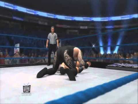WWE 12' | The Undertaker Signature & Finishing Moves (The Last Ride+Tombstone Piledriver)