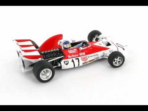 BRM P160B Jean-Pierre Beltoise 1st Monaco GP 1972 1:43 Scale Model