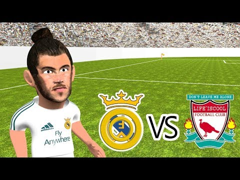 ⚽🏆real Madrid Vs Liverpool 3-1 Champions League Final 2018 🏆(parody Highlights)