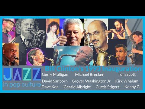 Bill Clinton Inauguration, Saxophones: Mulligan, Brecker, Sanborn, Whalum, Kenny G
