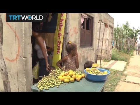 Venezuelans find a life of poverty in Colombia