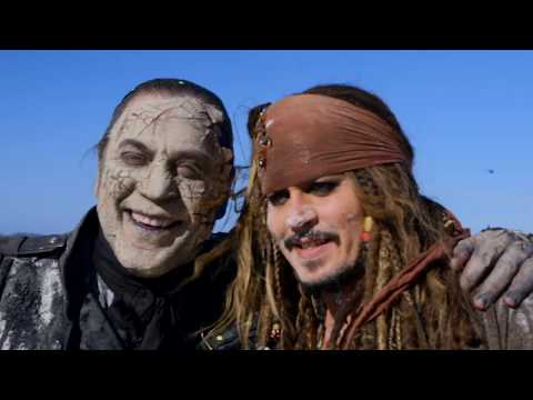 Thumbnail: PIRATES OF THE CARIBBEAN 5 B-Roll Behind the Scenes Featurette #2 (2017) Johnny Depp Disney HD