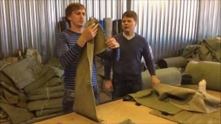 видео Брезент