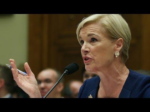 Planned Parenthood President SCHOOLS Republican Congressman