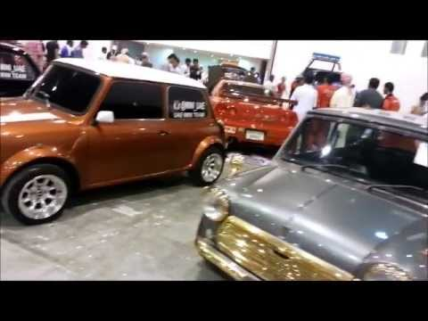 Awesome Mini Coopers.. Classics..UAE Mini Club...Dubai, Cars aCar.ae a car event Video