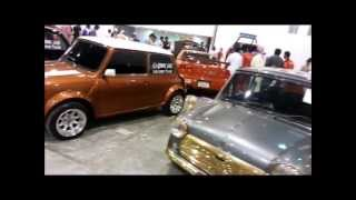 Awesome Mini Coopers.. Classics..UAE Mini Club...Dubai, Cars aCar.ae a car event Video