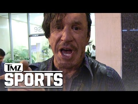 Mickey Rourke I'm Gonna Bash Lenny Dykstra's Face Up...ON SIGHT  TMZ Sports