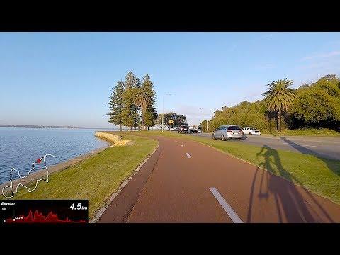 Lama Rides: Perth River Loop with Dr. SLane. 90mins / 46km / Full Ride