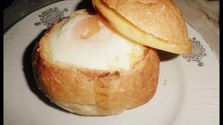 Яйца в булочках / ПРОСТО И ВКУСНО