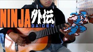 Ninja Gaiden - Unbreakable Determination Guitar (4-2 stage music) - NES