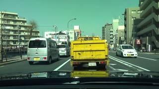 ひき逃げ目撃‼️昼間の大追跡‼️辺りのパトカーは緊急配備! thumbnail