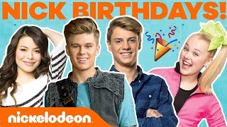 Nick Stars Birthdays & Zodiac Signs ♎ ft. JoJo Siwa, Henry Danger & More! | #NickStarsIRL