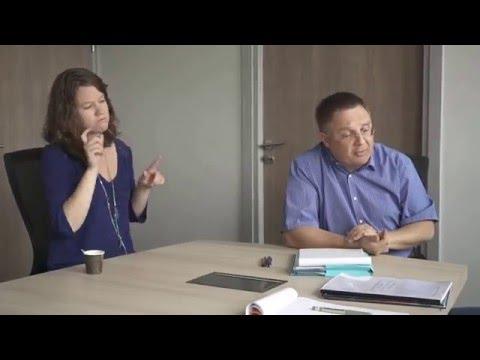 CAF Entretien avec Monsieur Liger Directeur de la CAF 94 et Noémie Churlet