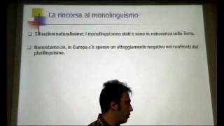 Prof. TAMBURELL · PART 1 Bilenguism in Lombardia e in Galles · PARLAR LOMBARD