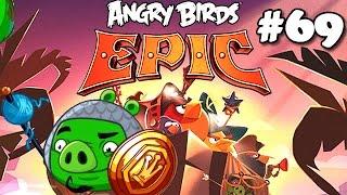 Angry Birds Epic #69 Chronicle Cave 2 Rain Plateaus (Planalto da Chuva) Part 7