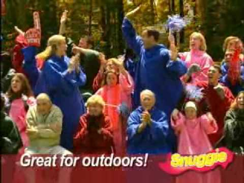 Snuggie - As Seen on TV Chat - YouTube
