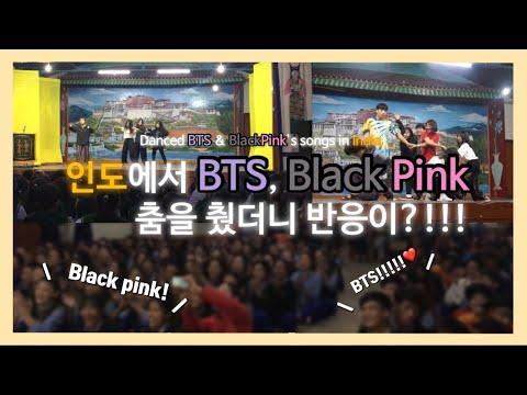 [인도브이로그] 인도에서 K-pop의 인기를 실감하다. 방탄소년단, 블랙핑크 해외 반응/인도여행vlog With BTS, BlackPink In India 설하snowysummer