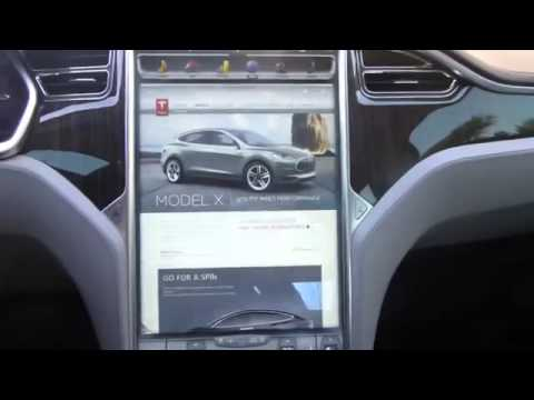 Tesla Model S Review by Owner   Part 3   17  Infotainment Touch Screen