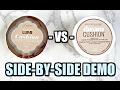 L'Oreal vs. Maybelline   Cushion Foundations Demo & Review