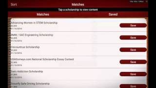 Scholly app review (free money for college)